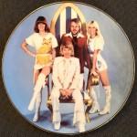 Limitierter ABBA - Wandteller // Top- Rarität - England 2002