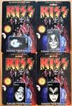 Komplettes 4er Set - PrePaid PhoneCards - KISS - USA 1996