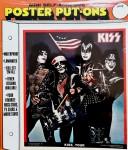 KISS - Poster Put-On - noch original verpackt ! - USA 1976