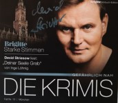 """DEVID STRIESOW - Krimi - Hörbuch - """"Deiner Seele Grab"""" von Inge Löhning - HANDSIGNIERT !!"""