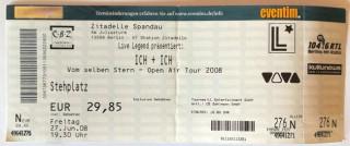 """Ticket - ICH & ICH - """"Vom Selben Stern Tour 2008"""" - ADEL TAWIL"""