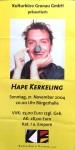 HAPE KERKELING - Ticket zu seiner Live- Show von 2004