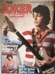 """PAUL McCARTNEY auf dem Titel des Musikmagazines """"Joker"""" von 1979 ---- MIT GROSSEM POSTER!!!!"""
