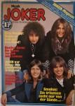 """SMOKIE auf dem Musikmagazin """"JOKER"""" vom Juni 1977"""