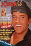 ELVIS PRESLEY - Titelstory der Musik JOKER von 1978