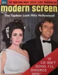 "ELIZABETH TAYLOR - Magazin ""Modern Screen"" - RICHARD BURTON - England 1964"