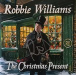 "Deluxe Doppel CD - ROBBIE WILLIAMS ""The Christmas Present"" - HANDSIGNIERT !!!"