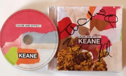 "TOP !! - CD von KEANE ""Cause and Effect"" - HANDSIGNIERT !!"
