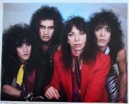 Promofoto - KISS - seltenes Motiv - England 1984