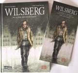 """""""WILSBERG"""" Cartoon mit Einladungskarte zur Vernissage - HANDSIGNIERT von LEONARD LANSINK +"""