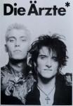 Postkarte - DIE ÄRZTE - ungelaufen - England um 1990