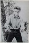 Postkarte - JAMES DEAN - cooles Revolver- Motiv - ungelaufen - England