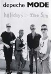 "Postkarte - DEPECHE MODE ""Holidays in the Sun"" - ungelaufen - England"