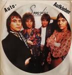 TOP- Rarität: SMOKIE - riesengroßer AUFKLEBER - 70er Jahre - unbenutzt