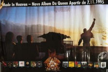 "QUEEN - seltenes Promo-Plakat ""Made in Heaven"" - BRASILIEN 1995"
