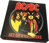 AC/DC - Untersetzer-Set - 4-teilig - Neuware!