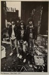 "RAMONES - Postkarte ""The Ramones, New York, 1977"" - ungelaufen"