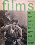 """BURT LANCASTER auf dem Titel der """"Film & Filming"""" - England 1964"""