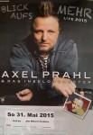 AXEL PRAHL und das Inselorchester - Konzert-Plakat - 2015