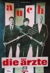 """DIE ÄRZTE - Promo - Poster zum Release von """"auch"""" - 2012"""