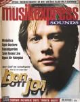 """JON BON JOVI - Coverstory der """"Musik Express"""" - Juni 1996"""
