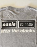 "Promo-Shirt - OASIS -zum  Album - Release von ""Stop The Clock"" - 2006"