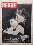"""INGRID BERGMAN - Coverstory des Magazines """"REVUE"""" von 1953"""