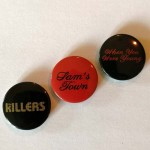 Selten - THE KILLERS - 3 offizielle Promo- Buttons von 2006