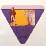 """ROD STEWART - """"Guest""""- Pass - Vagabound Heart- Tour 1991"""