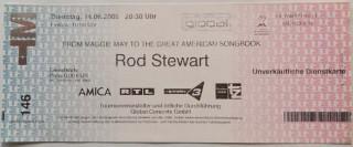 Ticket - ROD STEWART - München 2005 - Dienstkarte