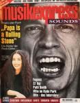 """MICK JAGGER - Coverstory der """"Musikexpress"""" - Deutschland 1996"""