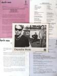 """DEPECHE MODE - Presse- Promoartikel rund um den Release von """"EXCITER"""" - USA 2001 - PLUS..."""