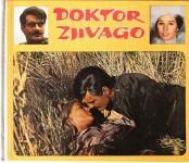 """Seltenes Buch - """"DR. ZJIVAGO"""" - OMAR SHARIF - JULIE CHRISTIE - Schweden 1968"""