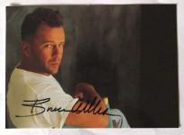 BRUCE WILLIS - Foto mit aufgedrucktem Autogramm - Ende der 1990er