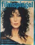 """CHER - auf dem Titel des """"FILMSPIEGEL"""" - von 1988"""