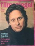 """Magazin - MICHAEL DOUGLAS auf dem Cover des """"FILMSPIEGEL"""" von 1990"""