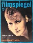 """Magazin - GRETA GARBO auf dem Cover des """"FILMSPIEGEL"""" von 1990"""