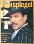 """Magazin - GÖTZ GEORGE auf dem Cover des """"FILMSPIEGEL"""" von 1988"""