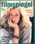 """Magazin - KATHLEEN TURNER auf dem Cover des """"FILMSPIEGEL"""" von 1990"""