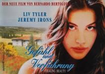 """Presseinformation - LIV TYLER - """"Gefühl und Verführung"""" von 1996"""