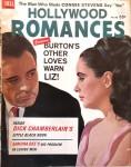 "Magazin - ""Hollywood Romances"" - ELIZABETH TAYLOR - RICHARD BURTON - USA 1963"