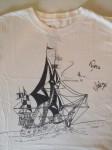 T-Shirt - HANDSIGNIERT von BIFFY CLYRO - auf einem Festival 2013