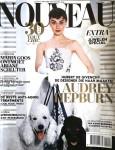 """AUDREY HEPBURN - Holländisches Magazin """"Nouveau"""" von 2016"""
