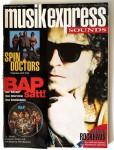 """WOLFGANG NIEDECKEN / BAP auf dem Cover des """"MUSIKEXPRESS"""" von 1993"""