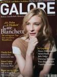 """Magazin - CATE BLANCHETT auf dem Cover der """"GALORE"""" von 2008"""