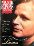 """HERBERT GRÖNEMEYER - Coverstory der """"MusikExpress"""" von 1990"""