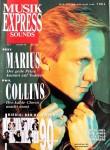 """MARIUS MÜLLER-WESTERNHAGEN - Coverstory der """"MusikExpress"""" von 1990"""