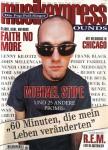 """MICHAEL STIPE / R.E.M. auf dem Cover der """"MusikExpress"""" von 1995"""