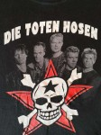 """T-Shirt - DIE TOTEN HOSEN - """"Skull"""" - Vintage - Schwarz - XXL"""