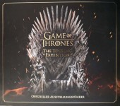"GAME OF THRONES - Offizieller Ausstellungsführer - ""The Touring Exhibition"""